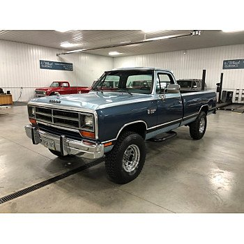1989 Dodge D/W Truck 4x4 Regular Cab W-250 for sale 101082370