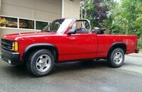 1989 Dodge Dakota 2WD Convertible Sport for sale 101204308