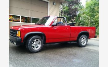 1989 Dodge Dakota 2WD Convertible Sport for sale 101204311