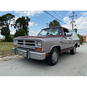 1989 Dodge Ramcharger for sale 101609202
