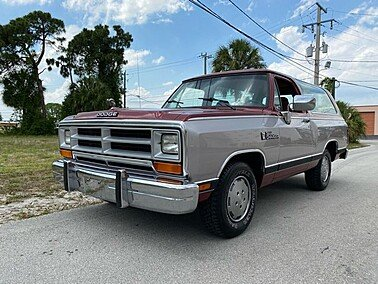 1989 Dodge Ramcharger for sale 101625448