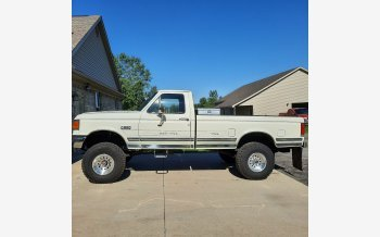 1989 Ford F250 4x4 Regular Cab for sale 101530303