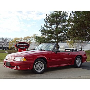 1989 Ford Mustang GT Convertible for sale 101385094