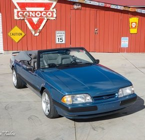 1989 Ford Mustang LX V8 Convertible for sale 101440964