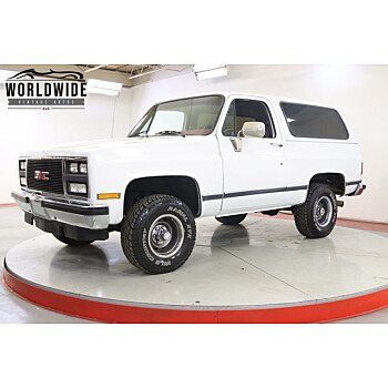 1989 GMC Jimmy 4WD for sale 101415261