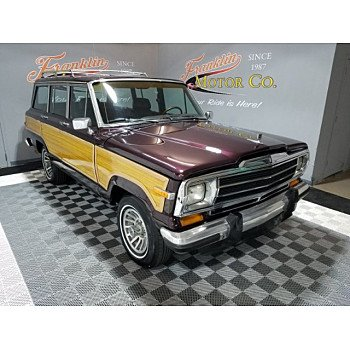 1989 Jeep Grand Wagoneer for sale 101112932