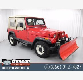 1989 Jeep Wrangler 4WD for sale 101286716