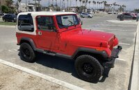 1989 Jeep Wrangler 4WD for sale 101356109