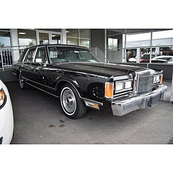 1989 Lincoln Town Car for sale 100993247