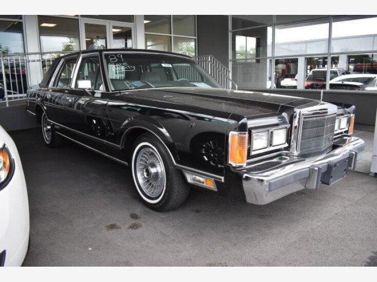1989 Lincoln Town Car For Sale Near Riverhead New York 11901