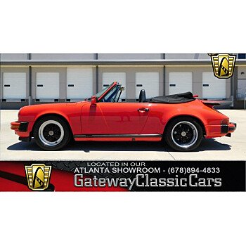 1989 Porsche 911 Carrera Cabriolet for sale 100994230