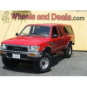 1989 Toyota Pickup 4x4 Xtracab Deluxe V6 for sale 101207041