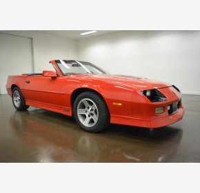 1990 Chevrolet Camaro IROC-Z Convertible for sale 101160379