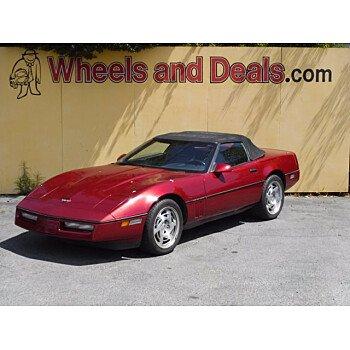 1990 Chevrolet Corvette Convertible for sale 101526004
