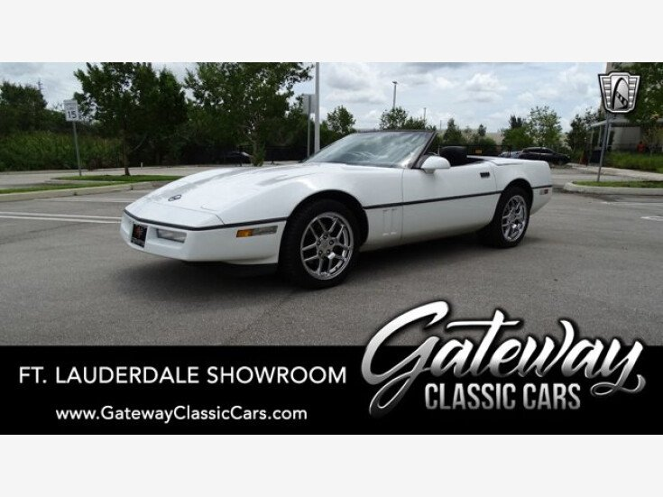 1990 Chevrolet Corvette Convertible for sale 101580830