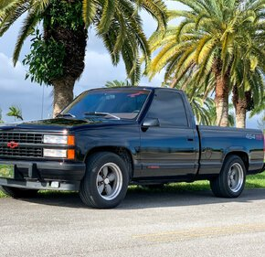 1990 Chevrolet Silverado 1500 2WD Regular Cab 454 SS for sale 101355814