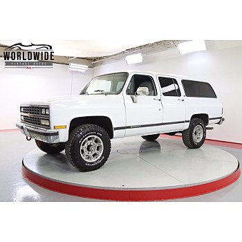 1990 Chevrolet Suburban 4WD 2500 for sale 101522440