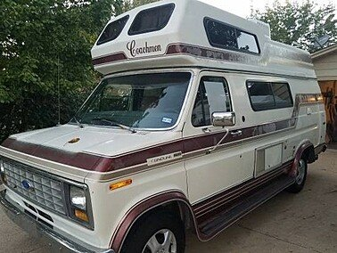 1990 Coachmen Van Camper for sale 300180276