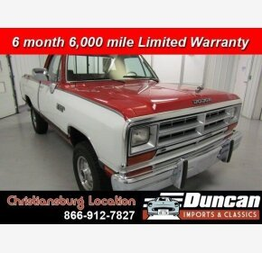 1990 Dodge D/W Truck for sale 101382644