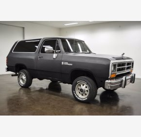 1990 Dodge Ramcharger 4WD for sale 101339450