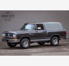 1990 Dodge Ramcharger 4WD for sale 101398608