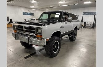 1990 Dodge Ramcharger 4WD for sale 101597191