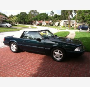 1990 Ford Mustang Gt Convertible For 101018013
