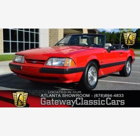 1990 Ford Mustang Lx V8 Convertible For 101026034