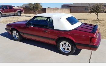 1990 Ford Mustang LX Convertible for sale 101068251