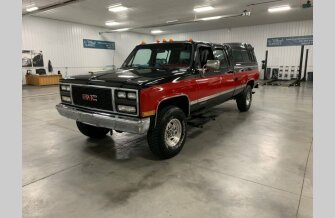 1990 GMC Sierra 3500 4x4 Crew Cab for sale 101190465