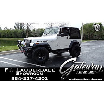 1990 Jeep Wrangler 4WD for sale 101100261