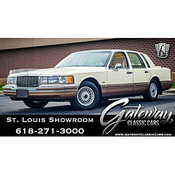 1990 Lincoln Town Car Signature for sale 101126138