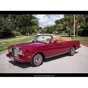 1990 Rolls-Royce Corniche III for sale 101048053