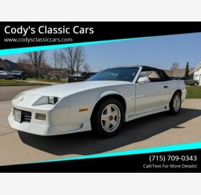 1991 Chevrolet Camaro RS Convertible for sale 101318628