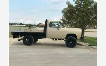 1991 Dodge D/W Truck 4x4 Regular Cab W-250 for sale 101222467