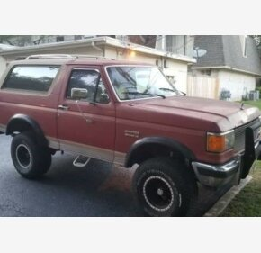 1991 Ford Bronco for sale 100999253