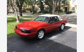 1991 Ford Mustang LX V8 Convertible for sale 101288807