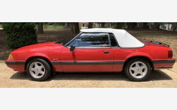 1991 Ford Mustang LX V8 Convertible for sale 101563151