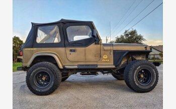 1991 Jeep Wrangler 4WD Sahara for sale 101306536