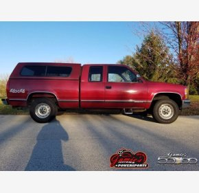 1992 Chevrolet Silverado 1500 4x4 Extended Cab for sale 101386236