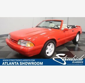 1992 Ford Mustang LX V8 Convertible for sale 100975873