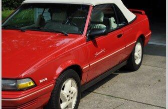 1992 Pontiac Sunbird SE Convertible for sale 101560053
