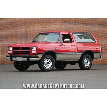 1993 Dodge Ramcharger 4WD for sale 101073111