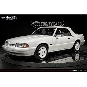 1993 Ford Mustang LX V8 Convertible for sale 101022942