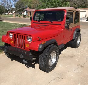 1993 Jeep Wrangler 4WD for sale 101321230