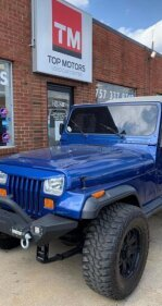 1993 Jeep Wrangler for sale 101458292