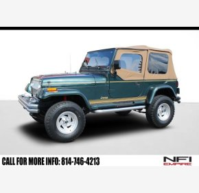 1994 Jeep Wrangler 4WD SE for sale 101295369
