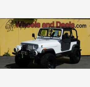 1994 Jeep Wrangler 4WD SE for sale 101207083