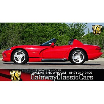 1995 Dodge Viper RT/10 Roadster for sale 100987097