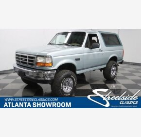 1996 Ford Bronco for sale 101420040
